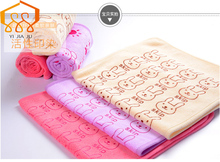 Горячая!!! новое поступление комфортабельные nano микрофибры детские полотенца лица детей полотенца мультфильм волос полотенца 50×25 см