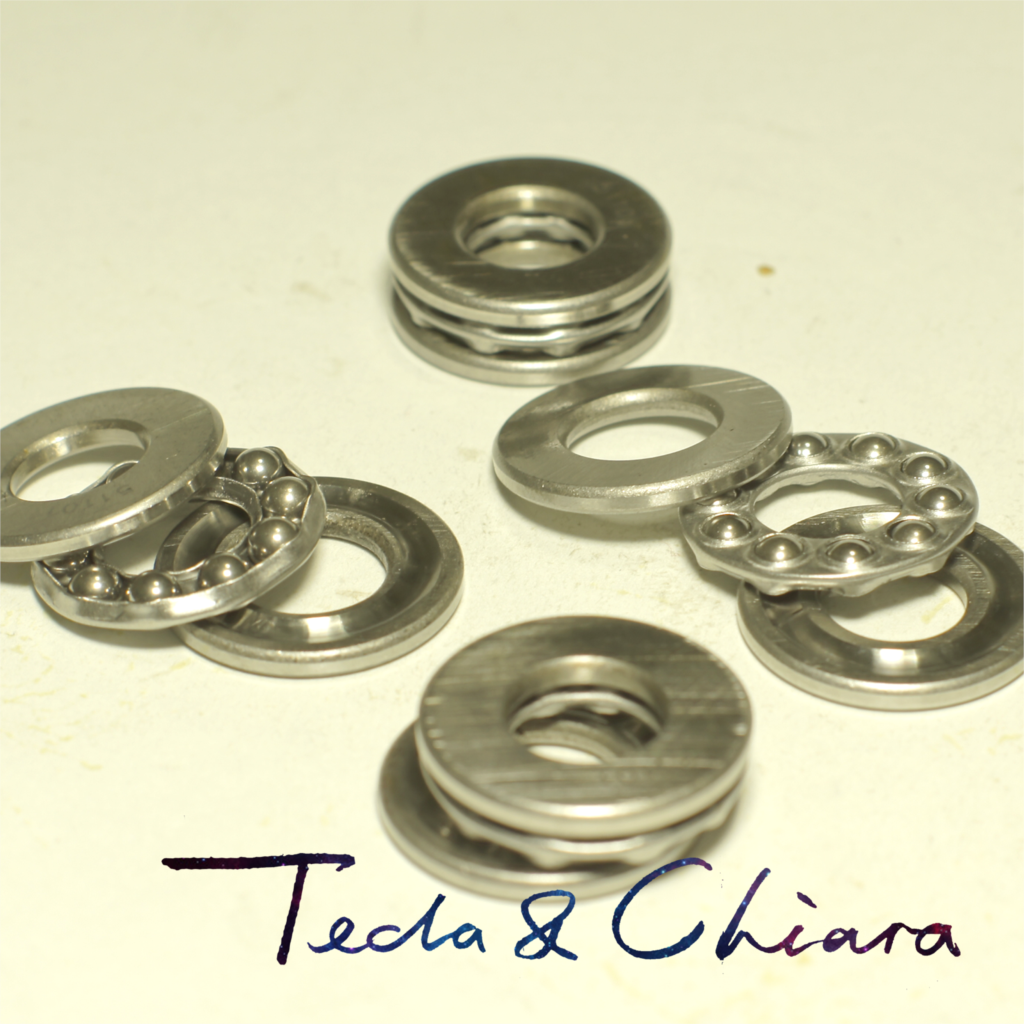 1Pc 51206 <font><b>30</b></font> x <font><b>52</b></font> x 16 mm Axial Ball Thrust Bearing 3-Parts * 3-in-1 Plane High Quality image