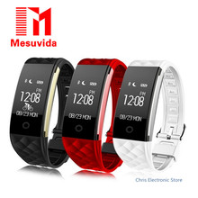Mesuvida S2 фитнес-трекер IP67 Водонепроницаемый Smart Band реального времени монитор сердечного ритма браслет для iOS и Android