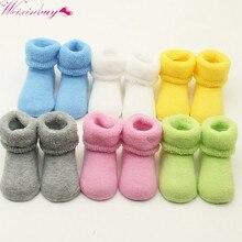 d2d096d43 0-2 bebé Niñas Niños recién nacido Invierno Caliente Botas niño niños  algodón suave Calcetines botines