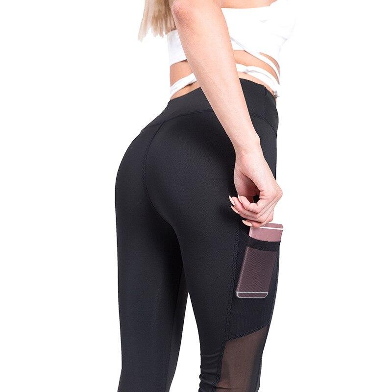 Modis leggings Women Workout Out Pocket Fitness Sports Gym Running Athletic Pants leggings fitness feminina in Leggings from Women 39 s Clothing