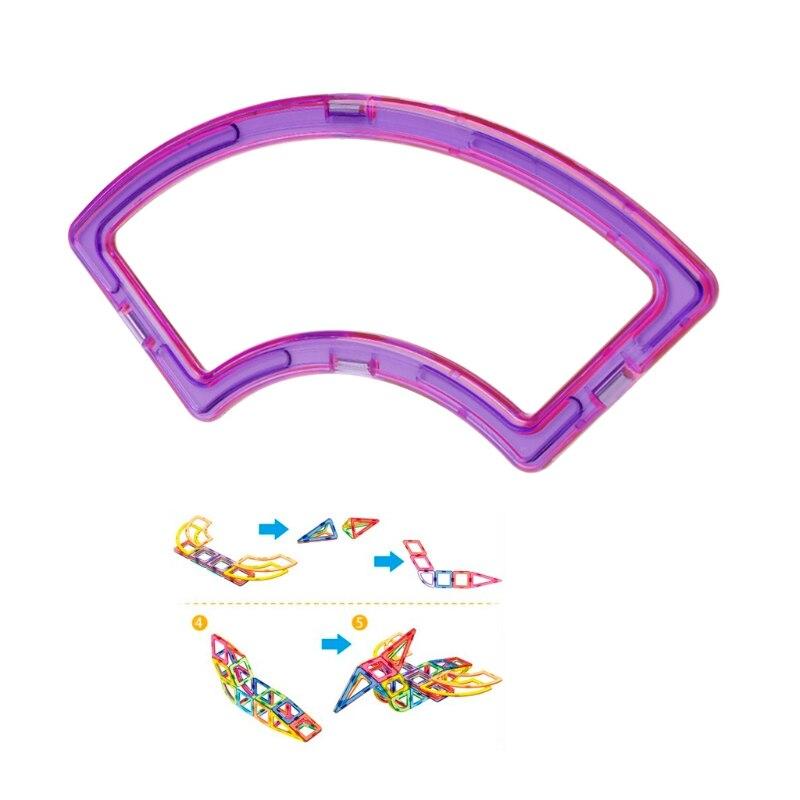 Magnetic Super Fan Building Blocks Designer Construction Model DIY Kids Toy Gift W15