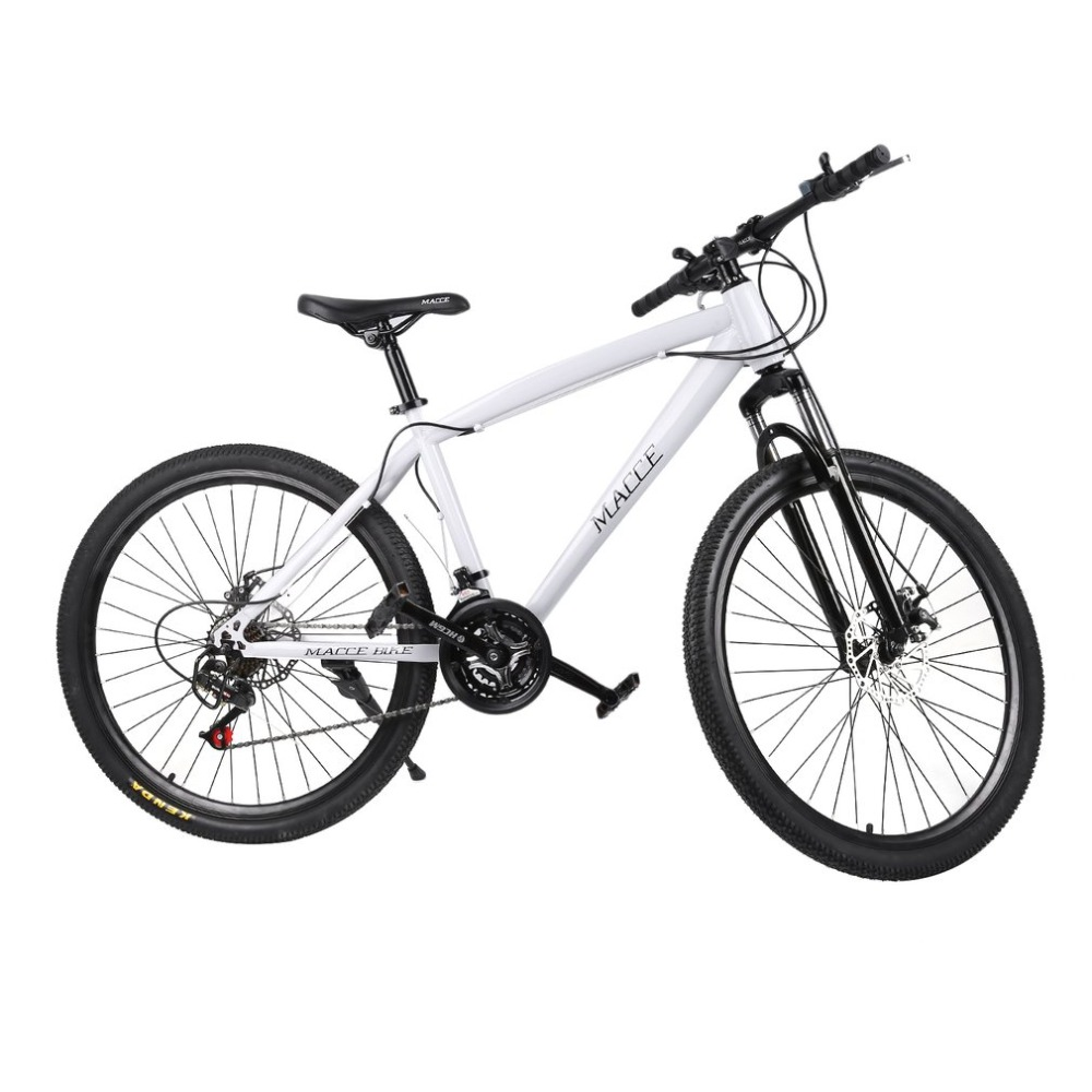 21 Speeds 26 Inch Racing Bicycle Unisex Double Disc Brakes Mountain Road Bikes waterproof Shock Absorber Mountain Cycling