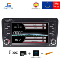 JDASTON 2 DIN Car DVD Player For Audi A3 2002 2011 Car Radio GPS Navigation Multimedia Stereo Autoaudio Bluetooth Canbus RDS USB
