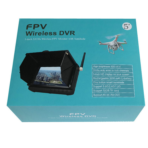 DHL-Free-shipping-2-4Ghz-wireless-monitor-DVR-with-sunshade-te981h-for-FPV-hobby-quadcopter-drons (3)