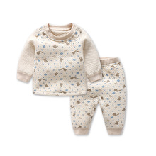 2018 The new Warm Boys Girls Clothes cotton Baby's Sets WHF1-WHF13