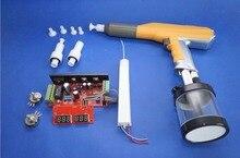 Цифровой руководство электростатического эксперимент лаборатория 100KV машина порошковое покрытие пистолет системы для Gema