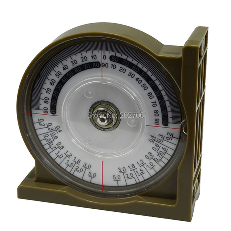 Angle Finder With Magnetic Base Locator Protractor Level Slope