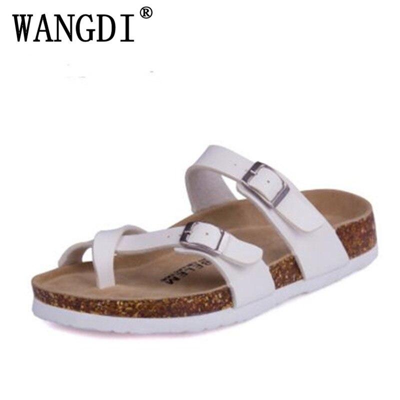 Mode Neue Sommer Kork Sandalen Casual Frauen Gemischt Farbe Flip-Flops Valentine Schuhe Zapatos Mujer Alias Plus Größe 35- 43