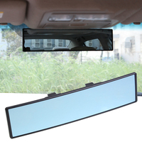 Car Rearview Mirror Anti Glare Car Interior Panoramic Clip On Wide Angle Rearview Mirrors Wire Drawing