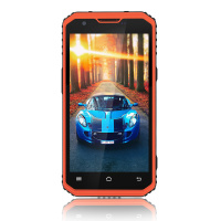 Original Kcosit K2 IP68 Rugged Waterproof Phone Dustproof Slim Cell Phone Quad Core 5.0