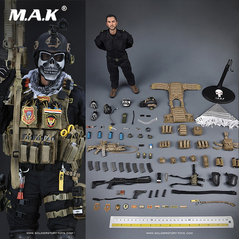 Full set doll 1/6 Scale Figure SoldierStory SS 105 1/6 Iraq special forces Figure military figure doll for collection