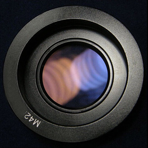 Image 1 - 10 個 M42 レンズ用ニコンマウントアダプタインフィニティ焦点ガラスで一眼レフカメラ用 d80 D90 D700 D5000