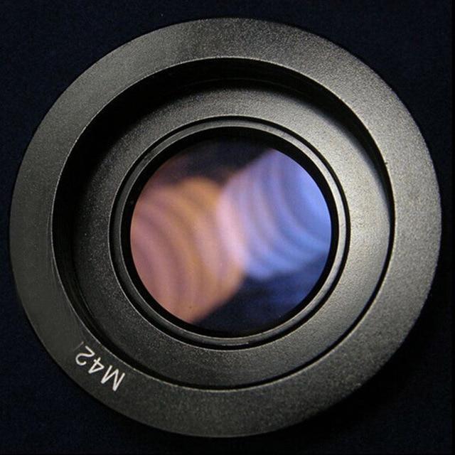 10 個 M42 レンズ用ニコンマウントアダプタインフィニティ焦点ガラスで一眼レフカメラ用 d80 D90 D700 D5000