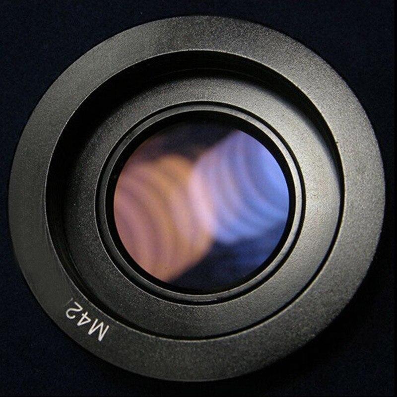 10 pçs lente adaptador anel para lente m42 para nikon adaptador de montagem com foco infinito vidro para nikon dslr d80 d90 d700 d5000