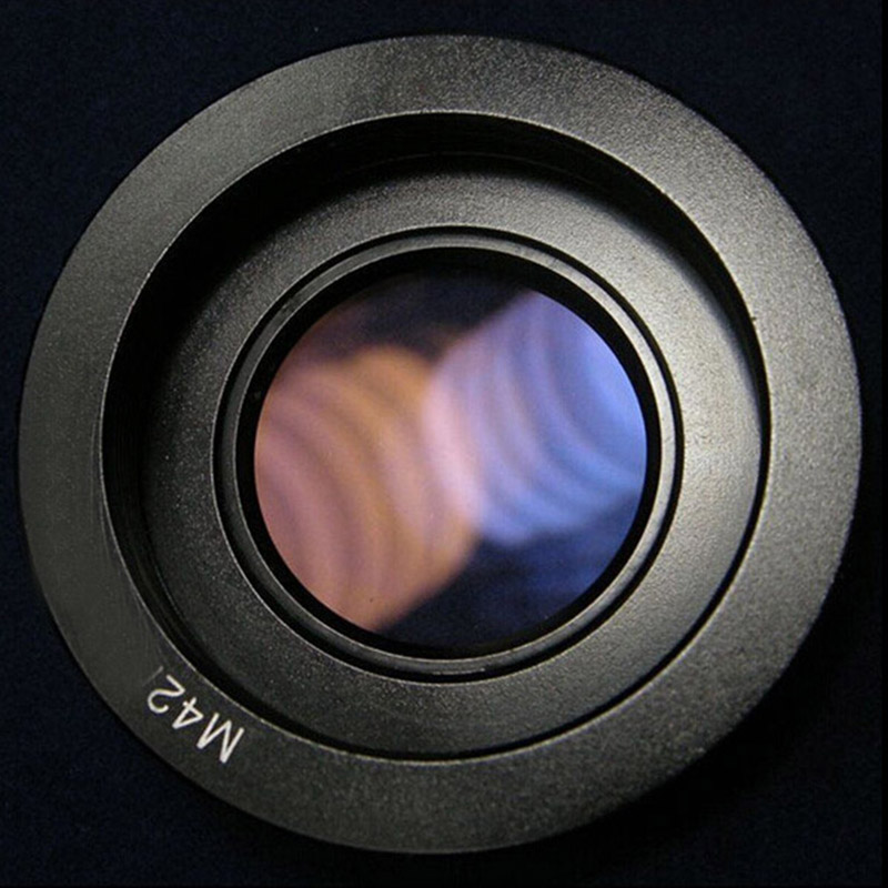 10pcs Lens Adapter Ring for M42 Lens to Nikon Mount Adapter with Infinity Focus Glass for Nikon DSLR Camera D80 D90 D700 D5000