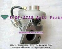 Free Ship GT2052S 721843 0001 721843 5001S 721843 79519 79522 Turbo Turbocharger For Ford Ranger 2001 Power Stroke HS2.8 2.8L