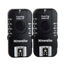 Commlite G430C 7CH Sem Fio & Agrupamento de Disparo Flash TTL para Canon Olympus