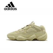 18a9587a4e70b New Arrival Authentic Classic Adidas Yeezy Desert Rat 500 Blush Unisex  Breathable Running Shoes Sneakers Sport