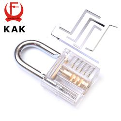 Kak mini transparent visible pick cutaway practice padlock lock with broken key remove hook extractor set.jpg 250x250