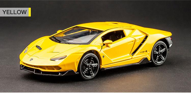 Centenario LP700-4 High Quality Model Toy Car 15.5x6.5x4.3 cm 42
