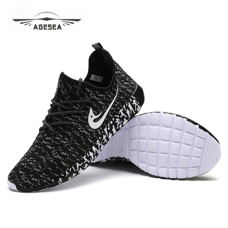 цены на Summer Trainers Men Shoes Flat Shoes Walking Casual Soft Breathable Mesh Zapatillas Deportivas Spring Lace-up 2018 New ADMX1828
