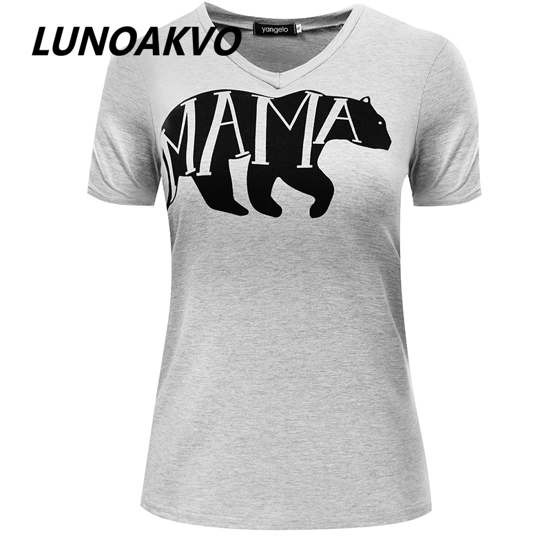 2016 Mama Bear T Shirt Hand Lettered Typographic Whimsical
