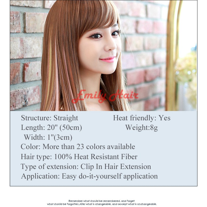10pclot fashion hair extension for women long synthetic clip in 10pclot fashion hair extension for women long synthetic clip in extensions straight hairpiece party highlights punk hair pieces on aliexpress alibaba solutioingenieria Gallery