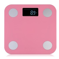 Body Fat Monitors Max.150KG Mini Smart Weighting Scale Digital Household Body Scale LCD Display Electronic Weight Balance