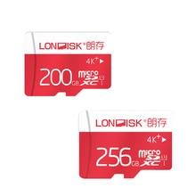 LONDISK Новое поступление 200 ГБ 256 ГБ карты памяти/Micro SD Card 200 ГБ флэш-карт SDXC MicroSD UHS-3 для смартфон