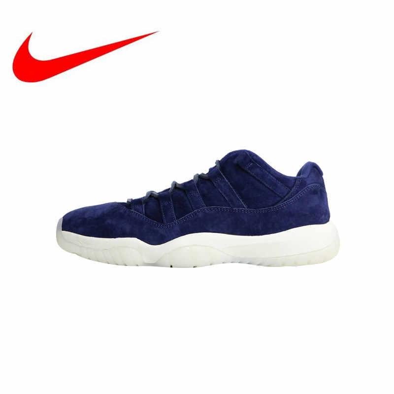hot sale online dae8a cf1aa High Quality New Nike Air Jordan 11 Low RE2PECT Men's Basketball Shoes  Outdoor Sneakers Shock Absorption Lightweight AV2187 441