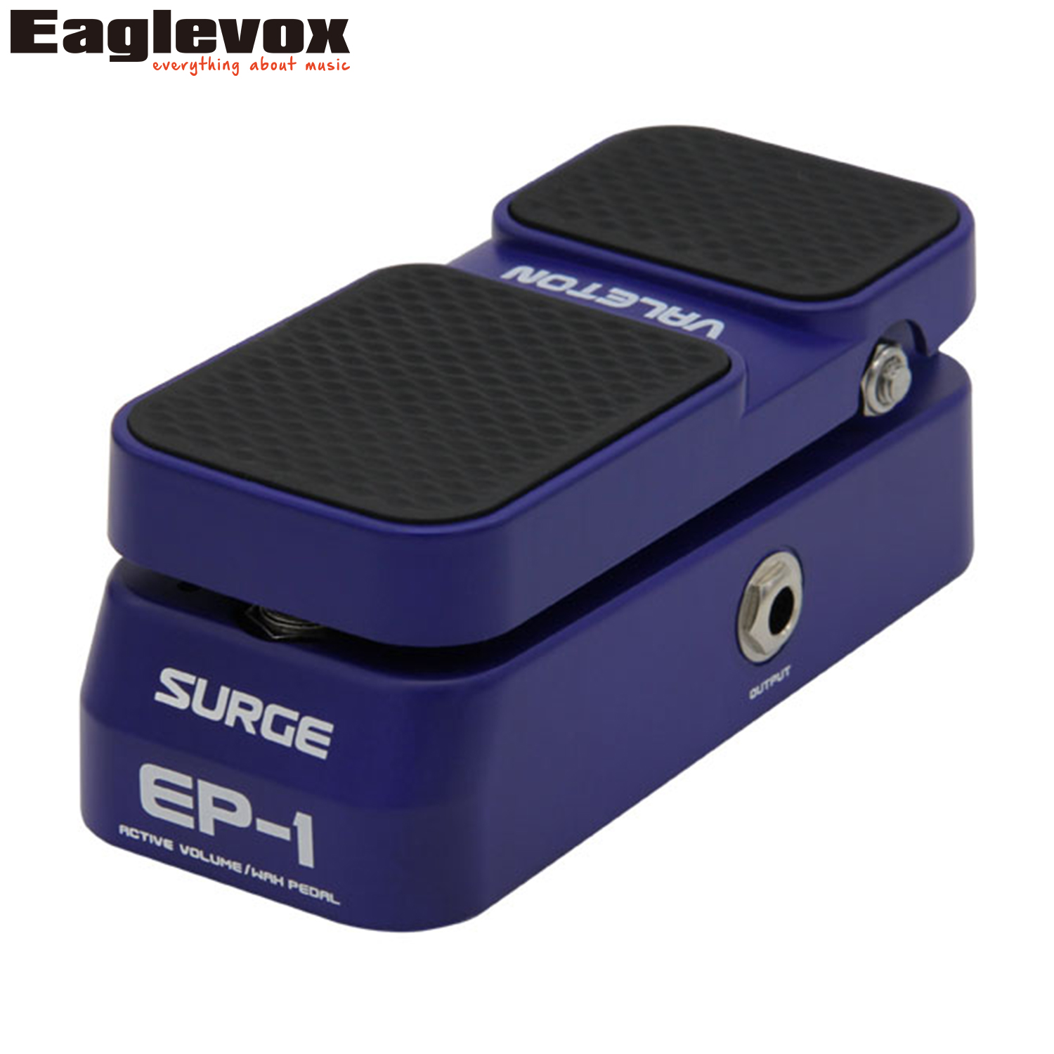Valeton Surge EP-1 Active Volume Wah Effect Pedal Vintage wah tone Effects for Electric Guitar and Bass Taper Volume Control hotone soul press volume expression wah wah guitar pedal cry baby sound