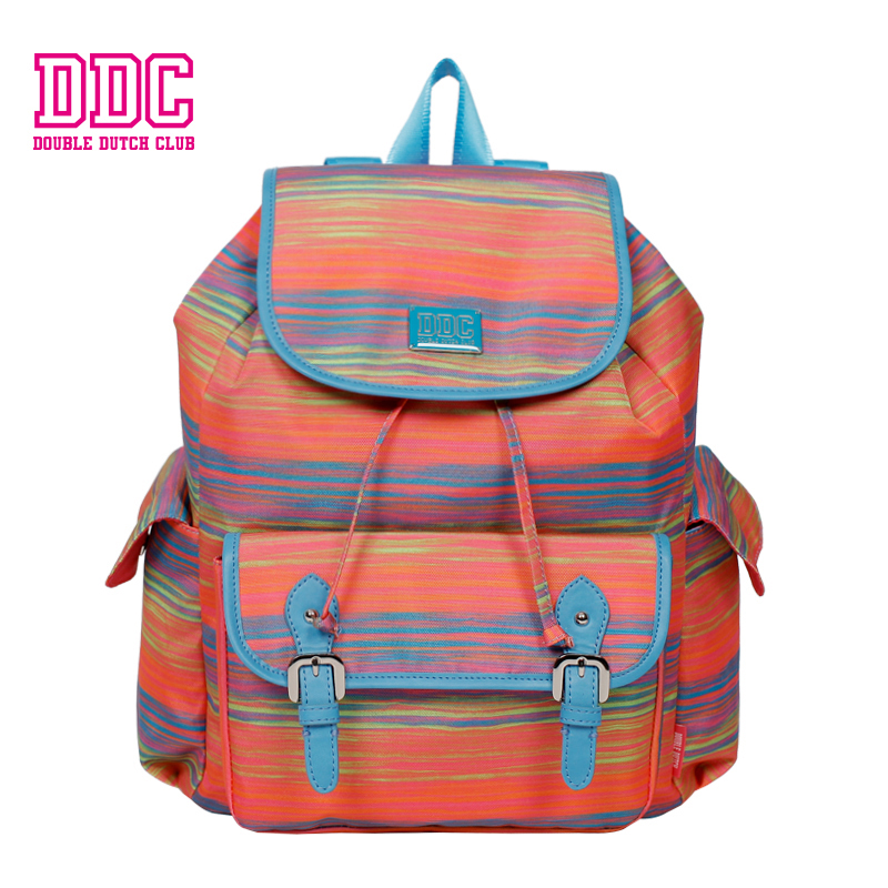 DDC Brand Backpack Fashion Women Backpack Teenage Backpacks for Girl Print Drawstring Backpack Casual Large Shoulder School Bags forudesigns fashion women drawstring bags william morris print mini string rucksacks for female reusable storage backpacks bolsa