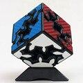 Nueva fibra de carbono Pegatinas Z-cube Cubo Mágico 2*2 Gear Gear Shift Cubo Cubo Mágico Educativo de juguete de Regalo Idea Envío de La Gota