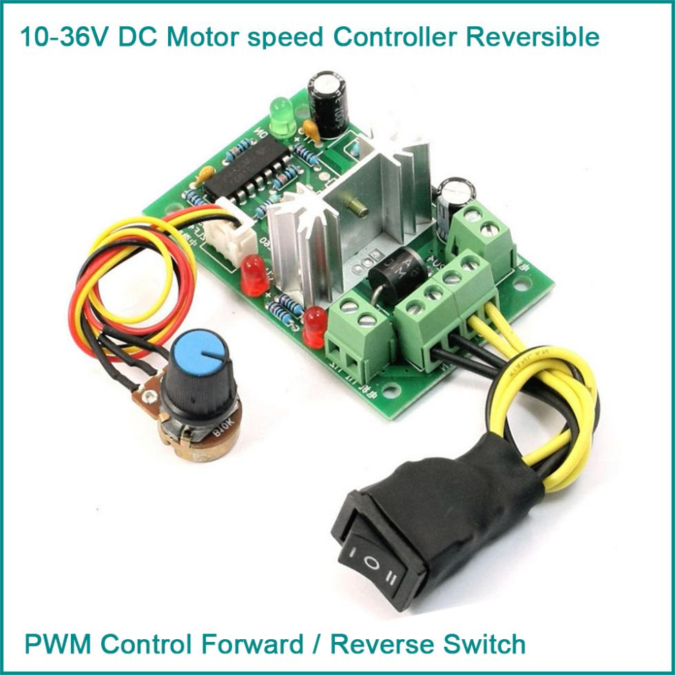 buy 10 36v dc motor speed controller