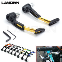 CNC Universal Motorcycle Brake Clutch Levers Protector Motorbike Lever Guard For DUCATI MONSTER 400 620 695 696 796 800 S2R 821