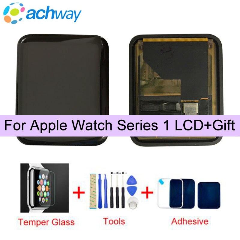 D'origine Sport/Saphir Pour Apple Montre LCD Affichage Tactile Assemblée D'écran Pour Apple Montre Série 1 LCD 38mm /42mm Remplacement