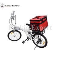 45*35*30cm Pizza Delivery Box, Big Pizza Delivery Bag, Catering Carrier, Side Loading, 2 Way Zipper Closure SZ 453530