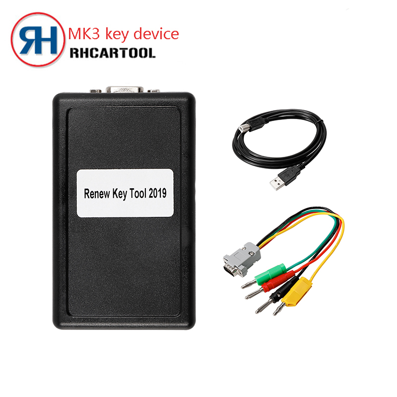 OBD2 MK3 Renew Key Tool SuperTransponder Key Programming for Gm for volvo With Full Remote Key