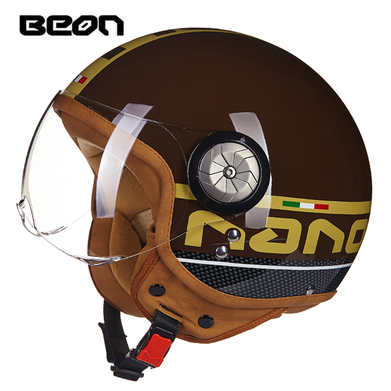 Motorcycle Helmet Sumer Open Face Helmet Half Face Breathable Sun Protectio Helmet Casco Moto Vintage Capacete Motocross