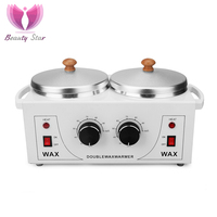 Heater Machine Double Wax Warmer Paraffin Bath For Hand and Feet Parafina Manos Hands SPA Beauty Machine|Wax Heaters|Home Appliances -