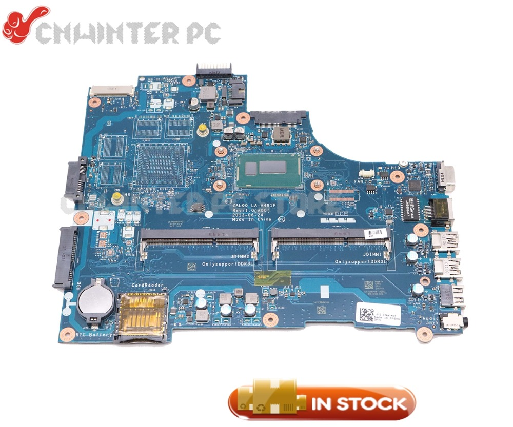 NOKOTION For <font><b>Dell</b></font> Latitude <font><b>3540</b></font> Laptop Motherboard SR1EN I3-4030U ZAL00 LA-A491P CN-08P1RY 08P1RY 8P1RY MAIN BOARD image