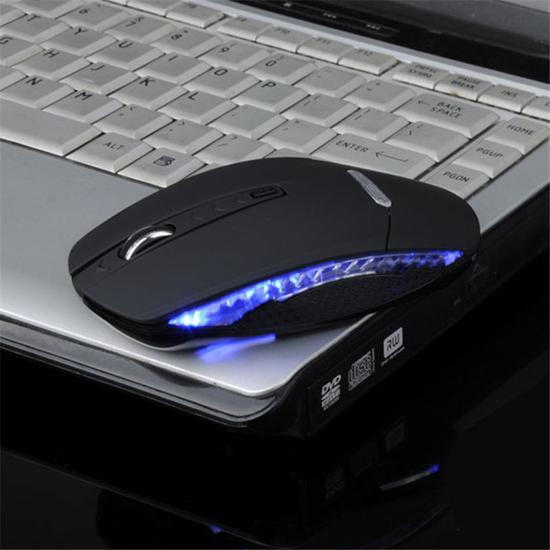 цены Slim 1600DPI gaming mouse wireless 2.4G Optical wireless mouse usb charging wireless mouse gaming 62500A
