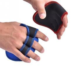 1 زوج للجنسين رفع الأثقال قفازات التدريب النساء الرجال اللياقة البدنية الرياضة بناء الجسم الجمباز Grips رياضة اليد النخيل حامي