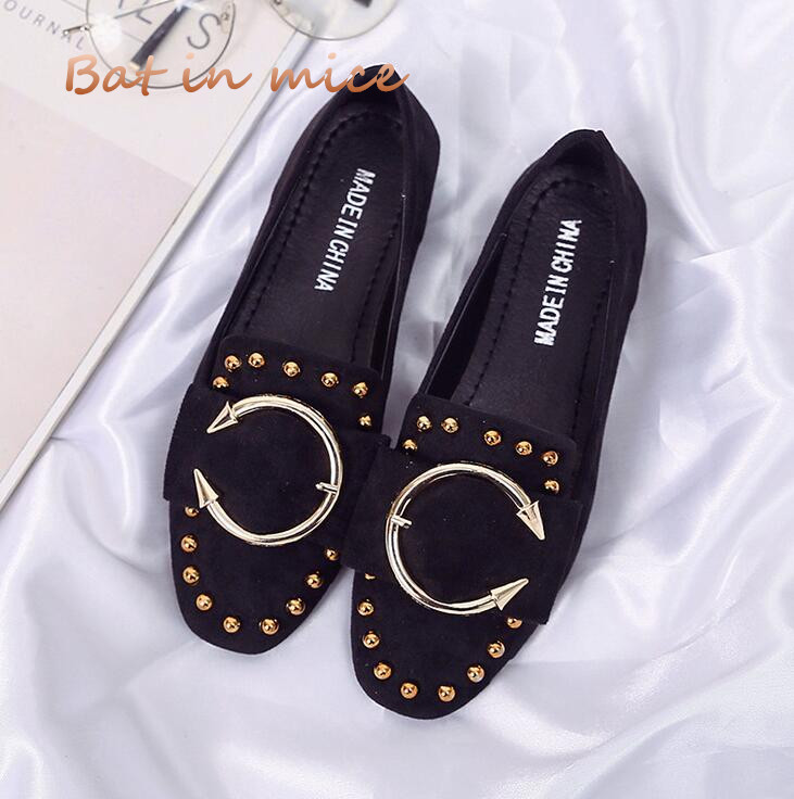 casual shoes 2018 New Fashion Spring summer Women Flats Shoes Ladies Toe Slip-On Flat Women Shoes Plus Size 35-40 Mujer C001 beyarne spring summer women moccasins slip on women flats vintage shoes large size womens shoes flat pointed toe ladies shoes