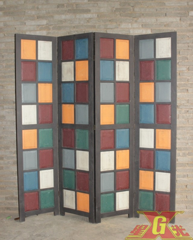 folding screen wood folding screen room divider paravent ...