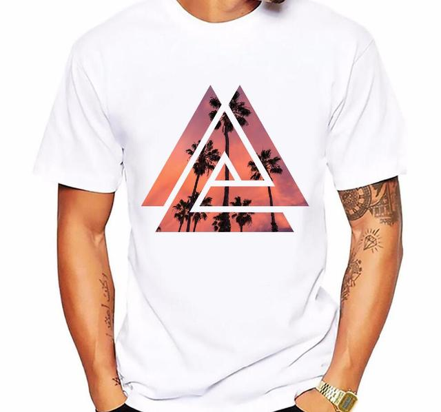 Men's t-shirt new casual short-sleeved Summer Retro Style Synthwave Graphic Logo Design printing t shirt men cotton comfortable  4