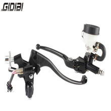 22mm 7/8 Inch Motorcycle Handlebar Hydraulic Brake Master Cylinder Clutch Lever Left OR Right Side 1 inch 25mm left right universal motorcycle brake master motorbike cylinder hydraulic pump clutch lever