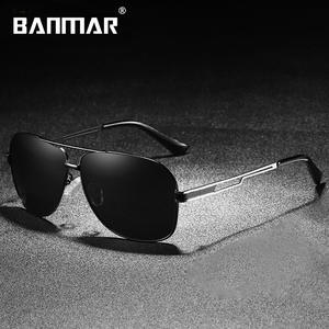 101302503cc95 BANMAR Brand Designer HD Polarized Shades Oculos Men Women Sunglasses UV400  Sun Glasses Male Driving Eyewear Original Box 0978