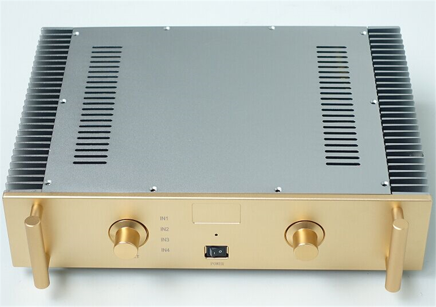 QUEENWAY A2 Original Circuit Integrated Amplifier Toshiba 5200/1943 FET K170/J74 HIFI Amplifier Very Real Sound Quality 150Wx2